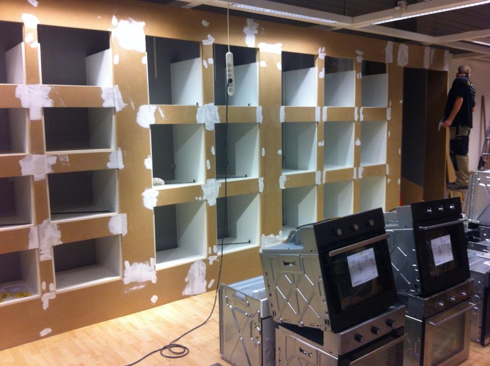 Ausstellungsbau Elektrogeräteübersicht