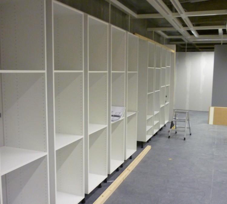 Ausstellungsbau Ikea Elektrogeräteübersichten